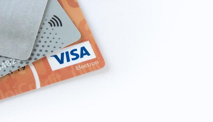 支払い用のカード