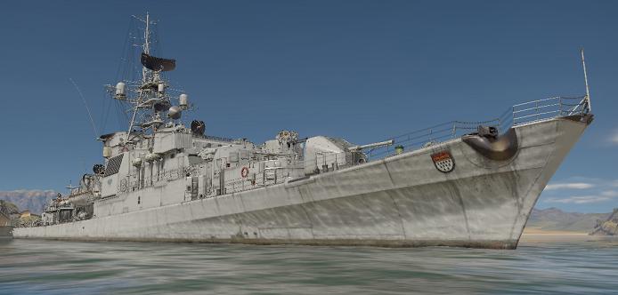 ウォーサンダーのケルン級フリゲート艦