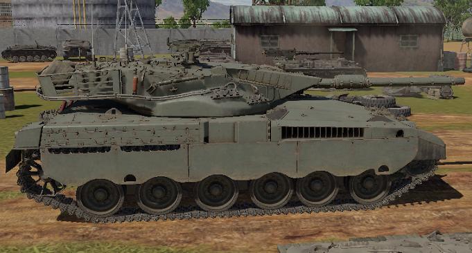 ウォーサンダーのメルカバ戦車