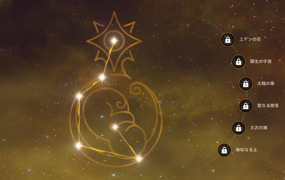 アルベドの命の星座